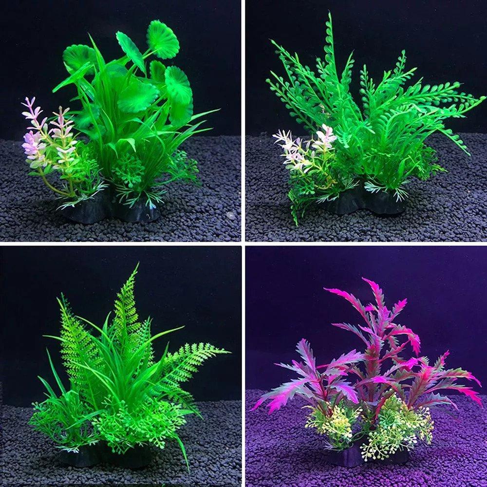 Hiasan plastik aquarium ikan hias